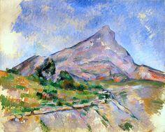 Paul Cezanne - Mont Sainte Victoire 1897