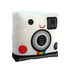 #cute #instagram #pillow: #Polaroid #Camera