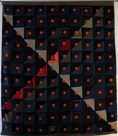 Abstract Log Cabin Quilt | Flickr - Photo Sharing!