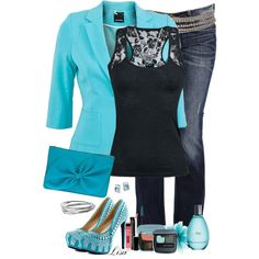 Dressed Up Jeans by lmm2nd on Polyvore
