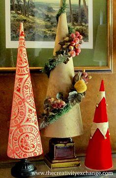 Christmas Tree Cone tutorial
