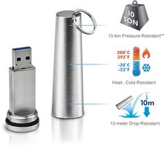 Lifeproof USB 3.0 Data Capsule by LaCie is Perfect For The End of The World