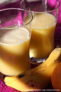 Cravo e Canela - Uma Cozinha no Brasil: Sumo de Laranja e Banana