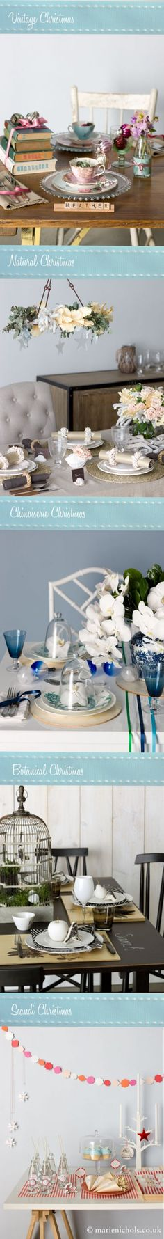 christmas table top ideas -wholelotta lovely