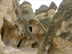 The ancient city of Cappadocia, Turkey, So far they have managed to uncover about 15% of the ruins of the 3000 year old city.
