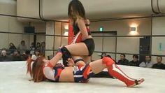 Kana vs Mio Shirai #joshipuroresu
