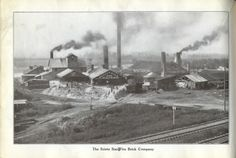 In 1861, Thomas Reece experimented with the choicest clay in Sciotoville.  He then gathered backers, and formed Taylor, McConnell and Company.  In 1864-65, McConnell, Porter and Company formed a brick plant, and in 1868 a third yard was opened by Farney, Murray and Company. In 1871, the three companies merged together and incorporated the Scioto Fire Brick Company. In 1894, the company added paving bricks to their product line. In 1902, Scioto Fire Brick formed the Star Yard.