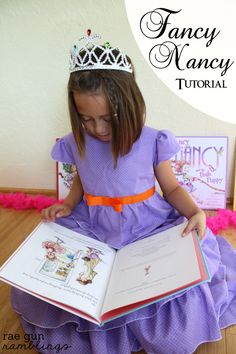 Fancy Nancy Dress Tutorial - Rae Gun Ramblings (make for the girls)