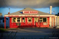 The Dune Burger on milepost 16 in Nags Head, North Carolina.