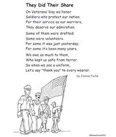 Itsabouttimeteachers: A Poem for Veterans' Day FREE