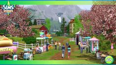 games, the game, trailers, the sims 3 seasons, expans pack, festivals, season crack, season game, mac