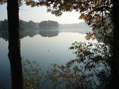 Great Hiking around the lake in Hudson, OH