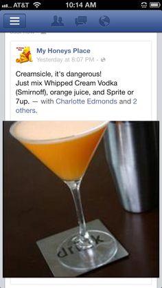 #creamsicle alcoholic beverage