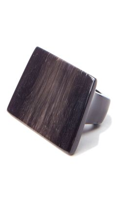 Solid Carved Flat Ring.
