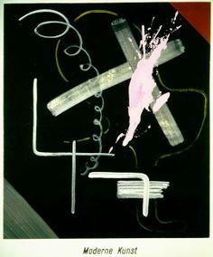 Moderne Kunst, 1968 Dispersion auf Leinwand 150 x 125 cm Sammlung Froehlich, Stuttgart Photo: Sammlung Froehlich, Stuttgart