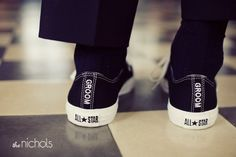 www.weddbook.com everything about wedding ♥  Confortable Groom Shoes | Rahat Damat Ayakkabisi #converse #groom