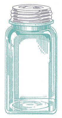 graphic fairy mason jar | Vintage Images - Mason Jars - The Graphics Fairy