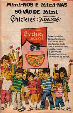 anúncio de Chicletes Mini