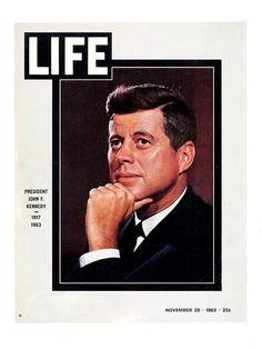 LIFE magazine — November 29, 1963: President John F. Kennedy 1917 - 1963