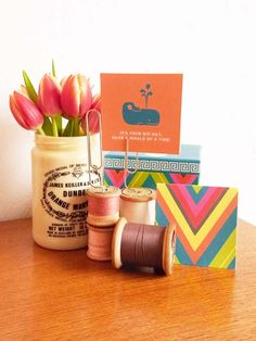 Quick Tip: Make A Vintage Bobbin Place Card Holder – Tuts+ Tutorials #diyplacecard #craft #spools