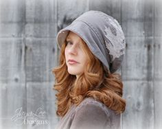 Up-cycled Hat by GreenTrunkDesigns