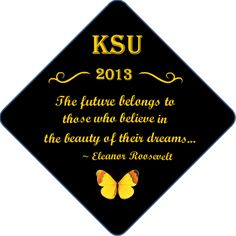 #graduation cap decorating ideas by www.tasseltoppers.com