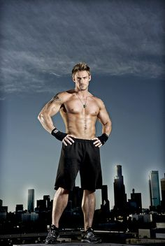 Jessie Pavelka  - fitness guru and straight talker!  Currently doing a show on Sky One, Obese: A Year To Save My Life