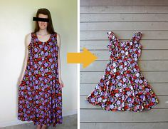 super cute and easy dress alteration