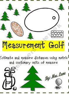 Measurement Golf Game (For Elementary Students!)