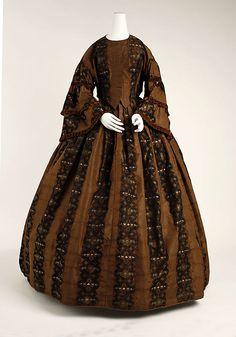 Dress, ca. 1859; MMA C.I.38.101.12a, b