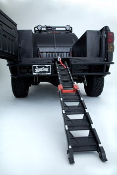 Ultimate Motocross Toyota Tundra Truck Ramp so need for our bikes!!