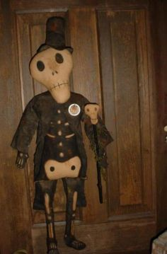 Baron Samedi Day of the Dead Skeleton Doll E-Pattern