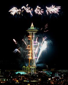 New Year's Eve in Seattle
