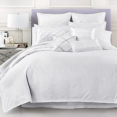 Hudson Park Luxe Ombre Diamond Bedding | Bloomingdale's