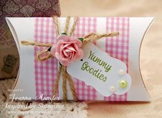Inspired by Stamping Washi Tape Pillow Box