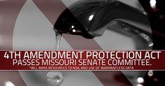 Missouri Senate Committee Passes Bill to Take on NSA