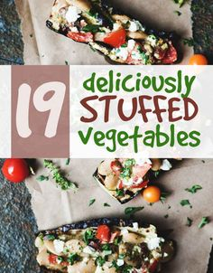 Who doesnt like stuffed veggies?!