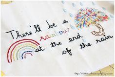 stitchery- in your words bloghop by amira_ameruddin, via Flickr