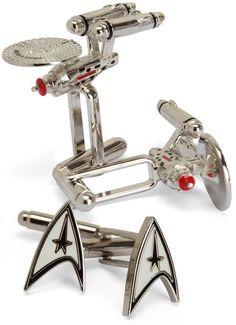 Star Trek Cuff Links $59.99