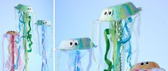 themed birthday parties, ocean themes, fish crafts, sea party, paper plate crafts