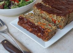 THE SIMPLE VEGANISTA: The Ultimate Vegetable Lentil Loaf