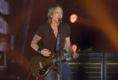 Country music star Keith Urban performs at the Peoria Civic Center
