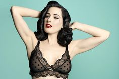 Check out the brand-new Dita Von Teese Destination Maternity lingerie line!