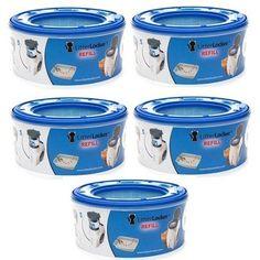 Amazon.com: 5 pack of Litter Locker Plus Refill Cartridge: Pet Supplies $39
