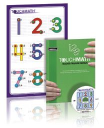 Free TouchMath Teacher Training DVD and materials.