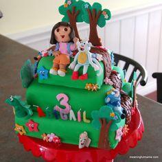 Meaningful Mama: Day #196 - Dora Birthday Party