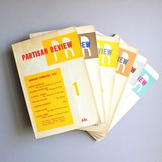 Partisan Review Now Free Online: Read All 70 Years of the Preeminent Literary Journal (1934-2003)