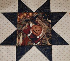 Halloween block by Lynn Wilder: Sew'n Wild Oaks Quilting Blog