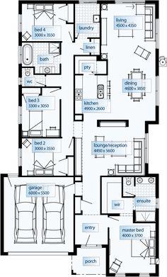 Simonds Livorno 3116 Home Floor Plans Pinterest