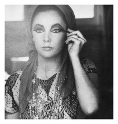Elizabeth Taylor photographed by Roddy McDowall in Rome, 1962.